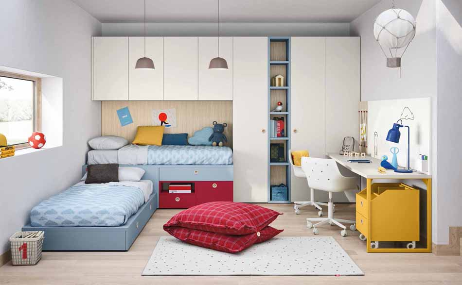 Battistella Camerette – 3127 Kids Ponte – Benefit Arredo Moderno
