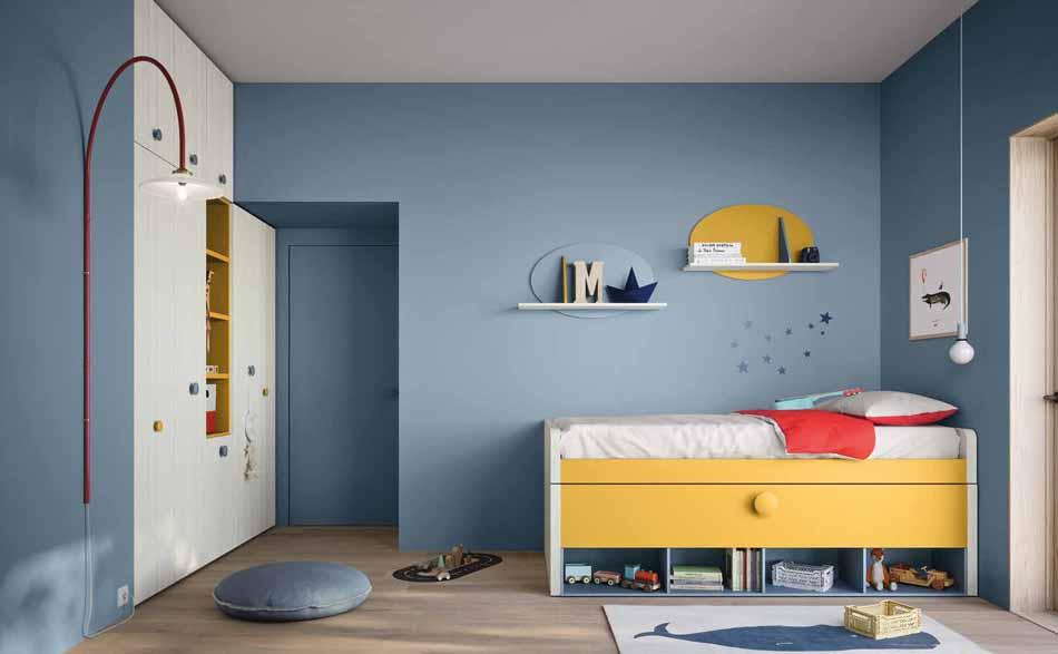 Battistella Camerette – 3128 Kids Soppalco – Benefit Arredo Moderno