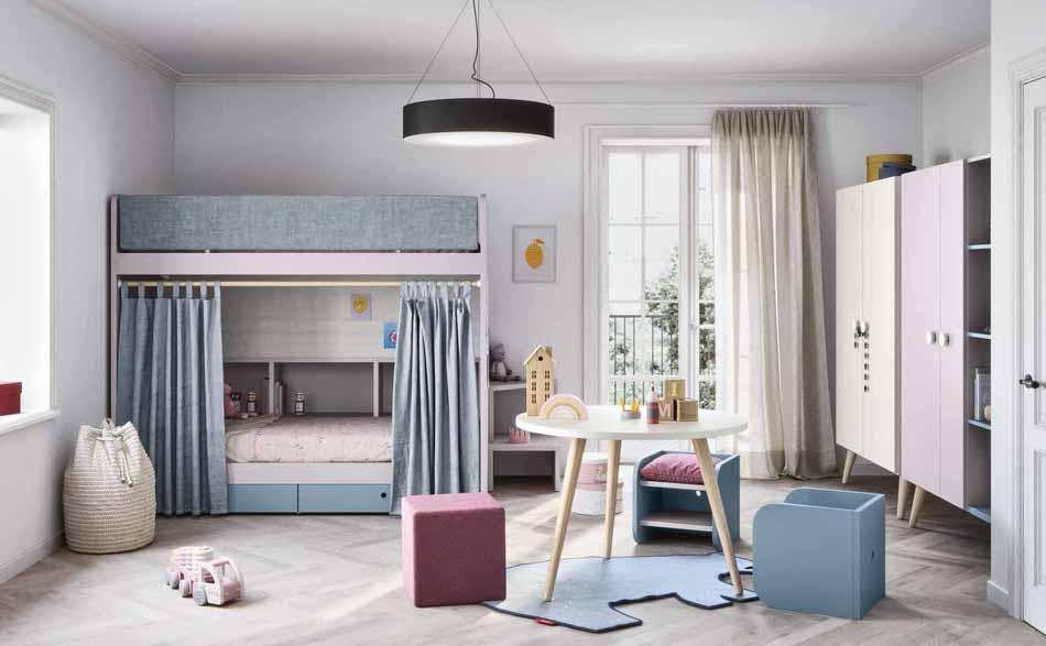Battistella Camerette – 3136 Kids Letti Castello – Benefit Arredo Moderno