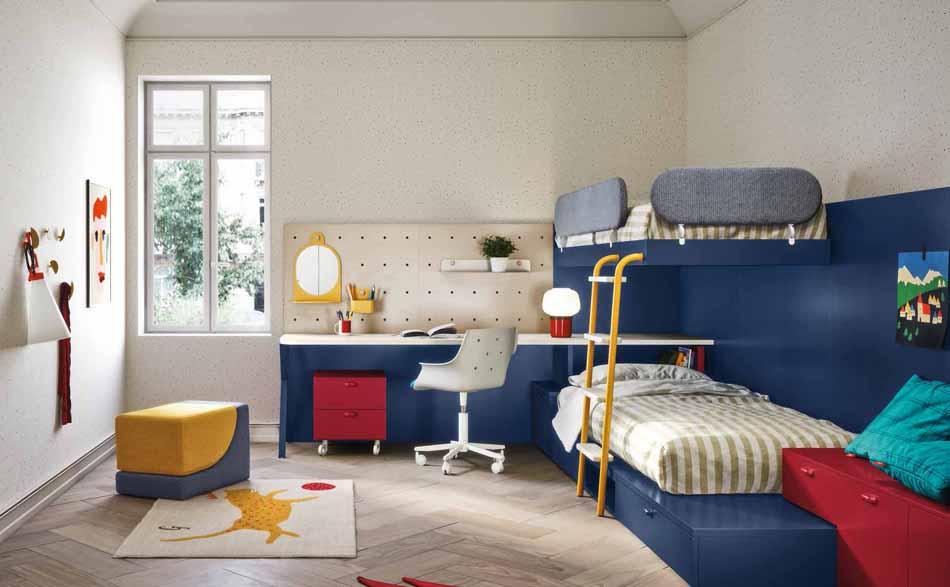 Battistella Camerette – 3138 Kids Soppalco – Benefit Arredo Moderno