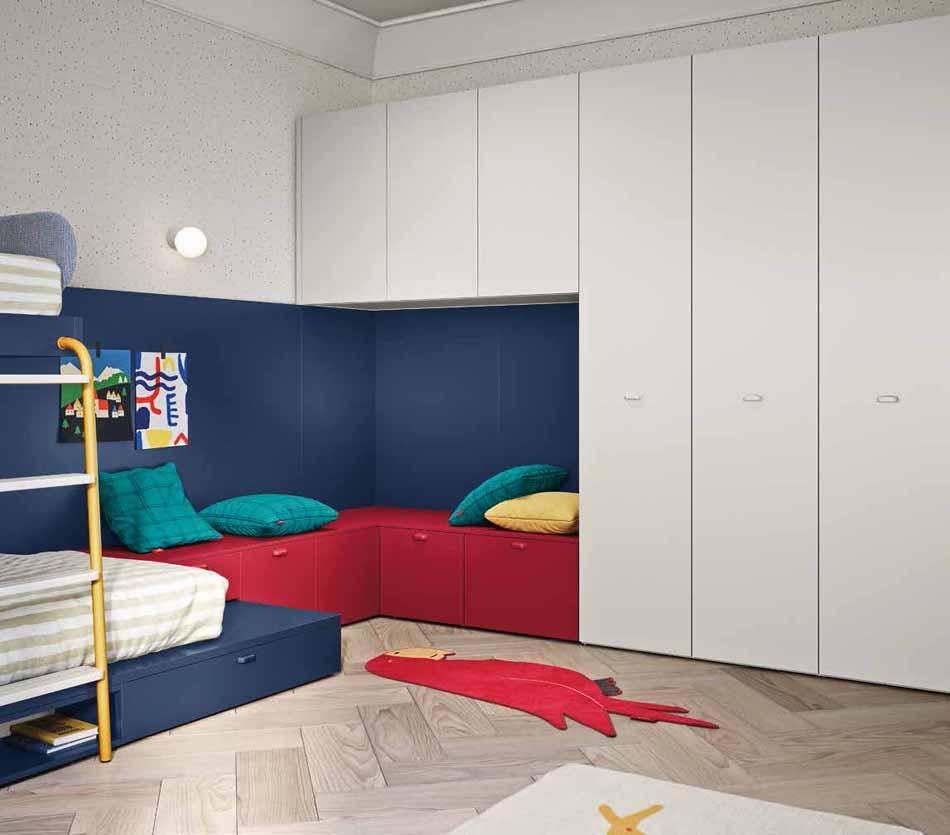Battistella Camerette – 3143 Kids Soppalco – Benefit Arredo Moderno
