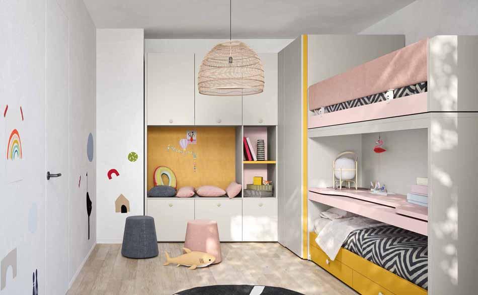 Battistella Camerette – 3146 Kids Letti Castello – Benefit Arredo Moderno