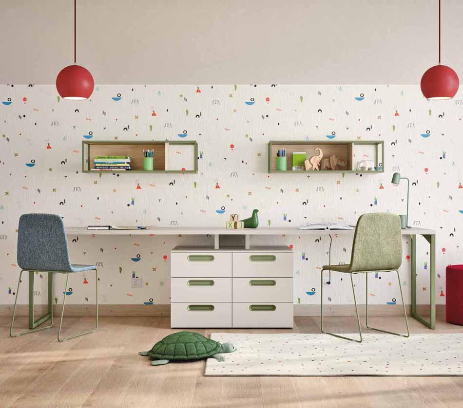 Battistella Camerette – 3150 Kids Letti a Terra – Benefit Arredo Moderno