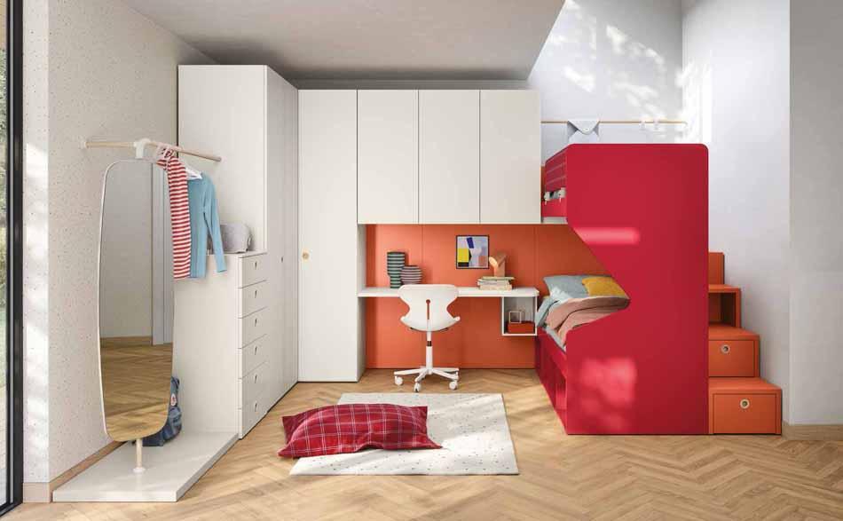 Battistella Camerette – 3151 Kids Letti Castello – Benefit Arredo Moderno