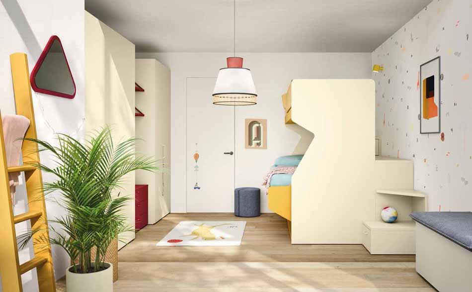 Battistella Camerette – 3161 Kids Letti Castello – Benefit Arredo Moderno