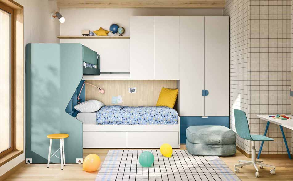 Battistella Camerette – 3181 Kids Soppalco – Benefit Arredo Moderno