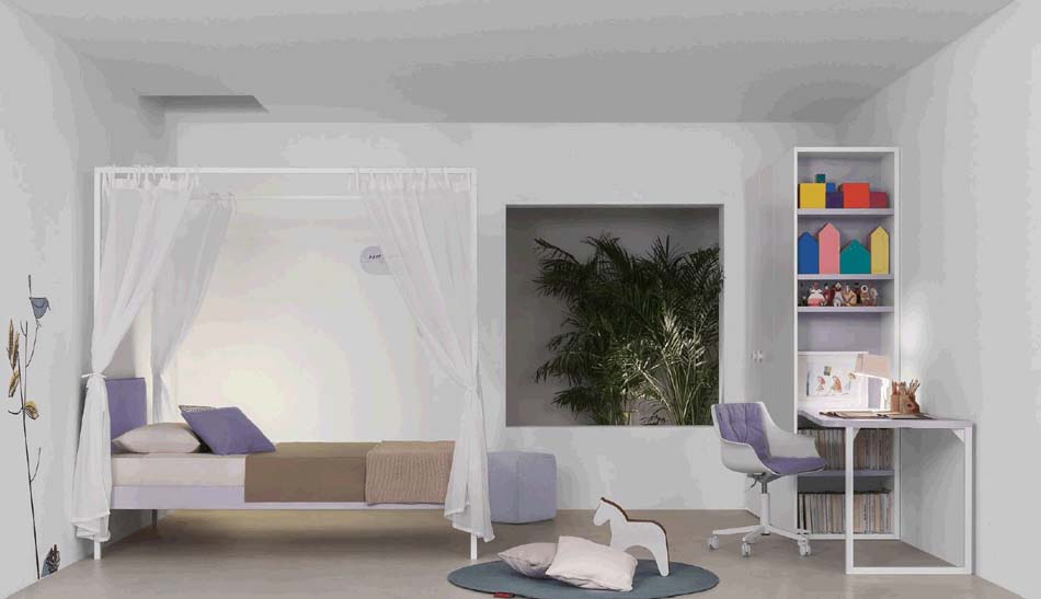 Battistella Camerette Moderne Nidi – Benefit Arredo Moderno – 3407