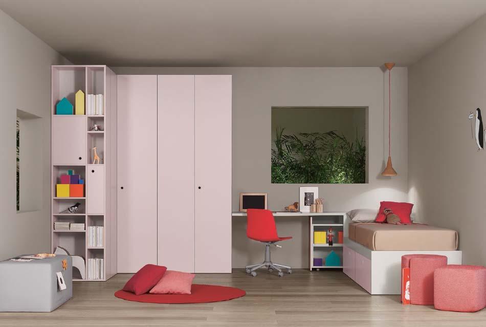 Battistella Camerette Moderne Nidi – Benefit Arredo Moderno – 3409