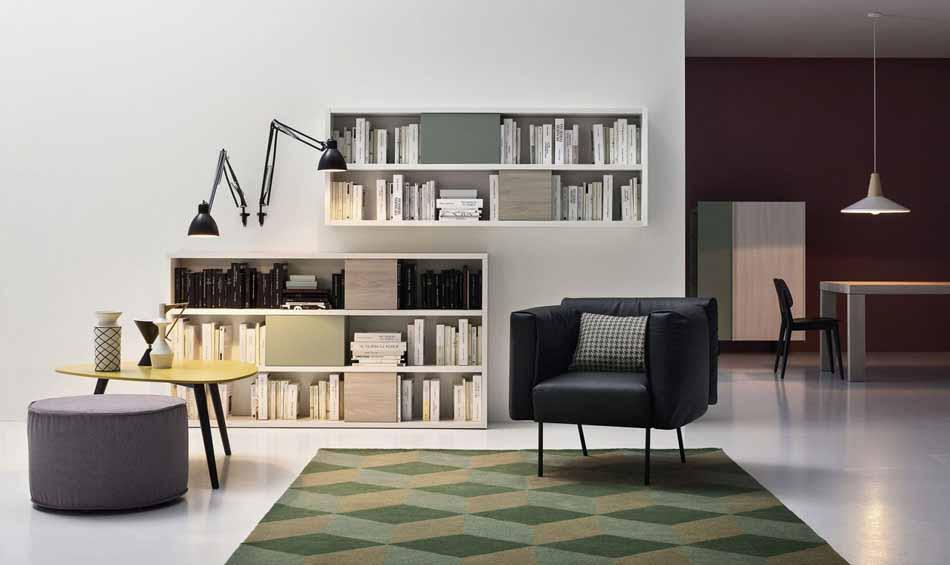 Cinquanta2873 – 05 Zona Giorno Librerie – Benefit Arredo Moderno