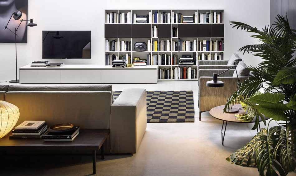 Cinquanta2877 – 06 Zona Giorno Librerie – Benefit Arredo Moderno