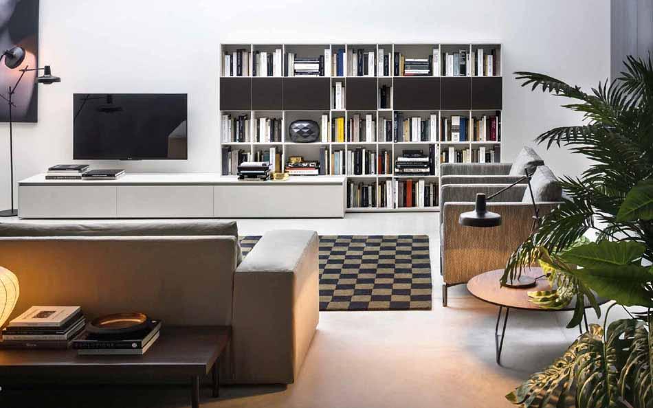 Cinquanta2888 – 09 Zona Giorno Librerie – Benefit Arredo Moderno