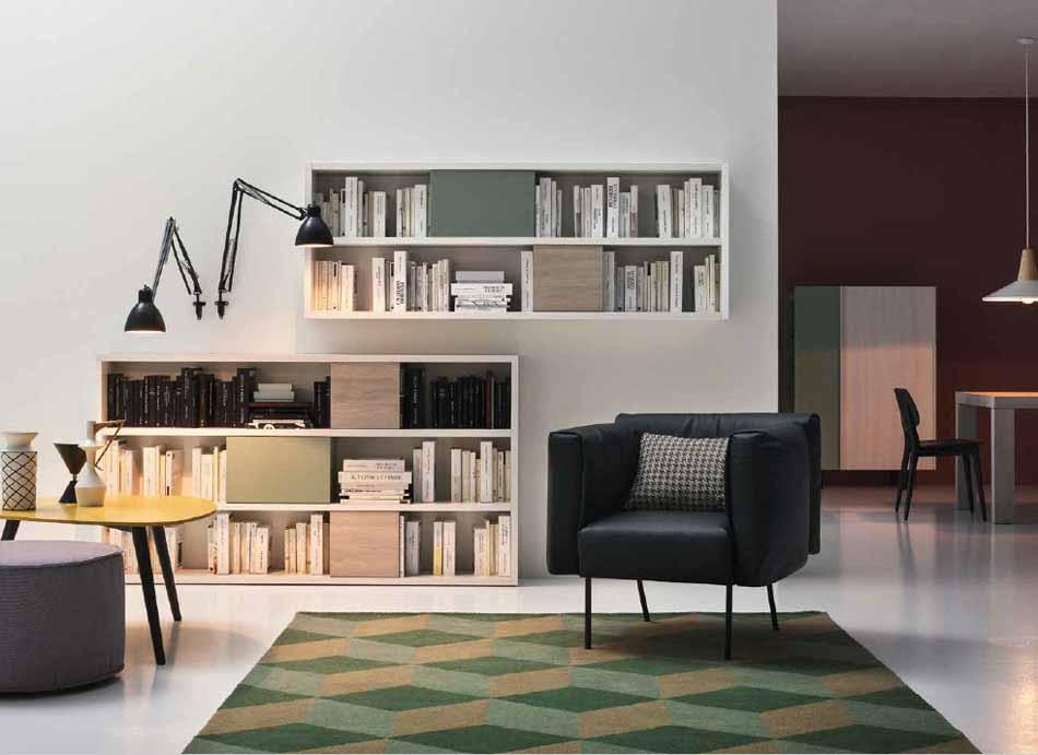 Cinquanta2893 – 10 Zona Giorno Librerie – Benefit Arredo Moderno