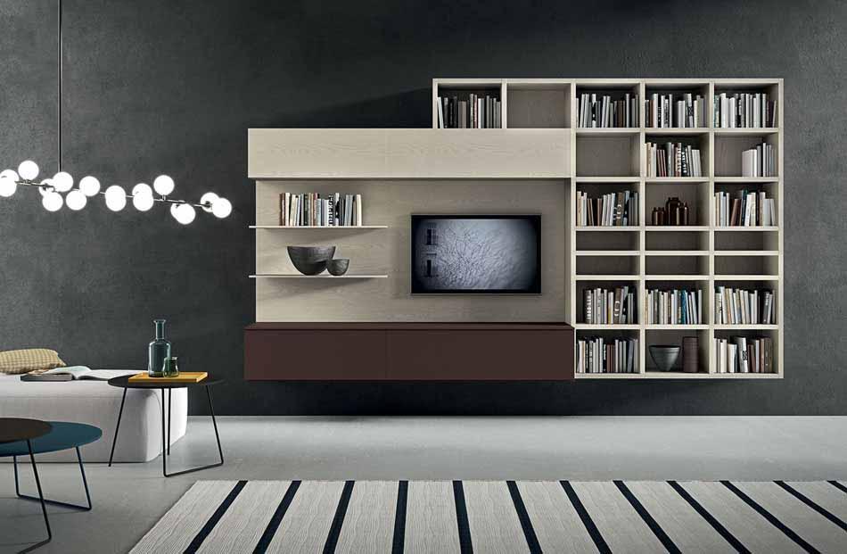 Cinquanta2911 – 16 Zona Giorno Librerie – Benefit Arredo Moderno