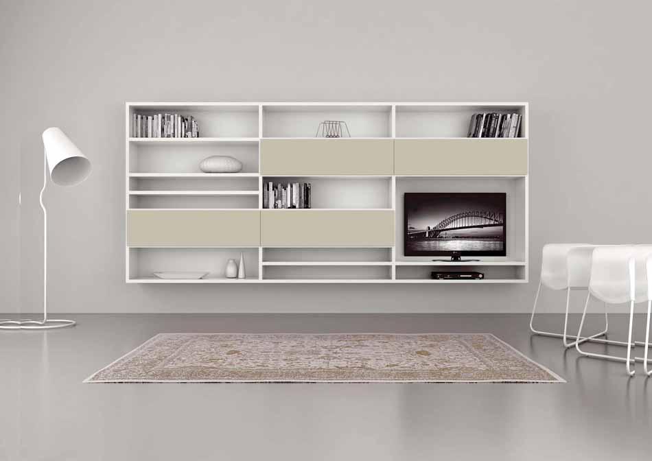 Cinquanta2920 – 19 Zona Giorno Librerie – Benefit Arredo Moderno