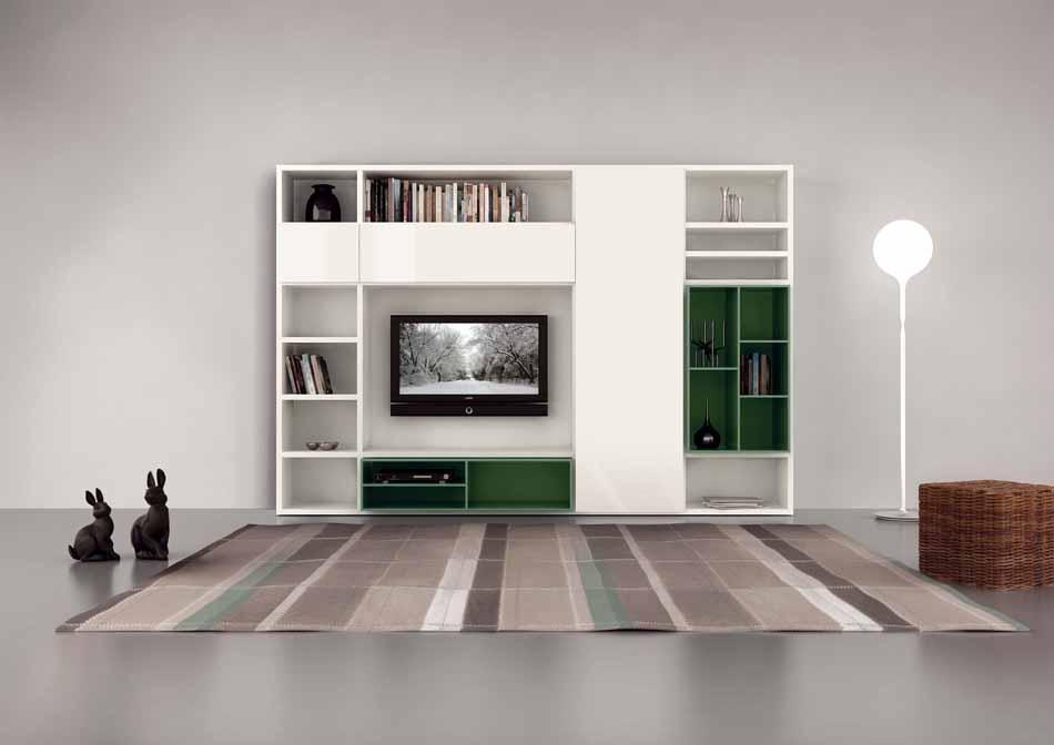 Cinquanta2923 – 20 Zona Giorno Librerie – Benefit Arredo Moderno