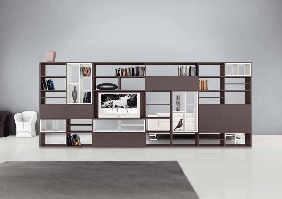 Cinquanta2934 – 25 Zona Giorno Librerie – Benefit Arredo Moderno