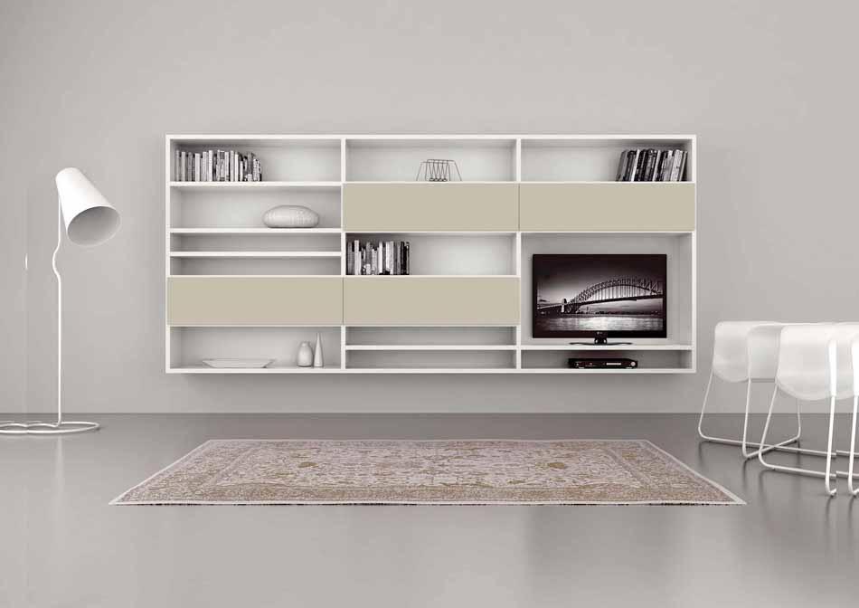 Cinquanta2948 – 32 Zona Giorno Librerie – Benefit Arredo Moderno