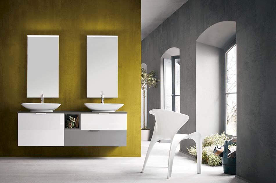 Compab Arredo Bagno B5572 Color Doppio Lavello – Benefit Arredo Moderno News – 101