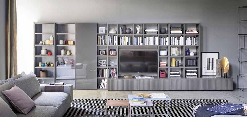 Novamobili 2270 Living Libreria – Benefit Arredo Moderno