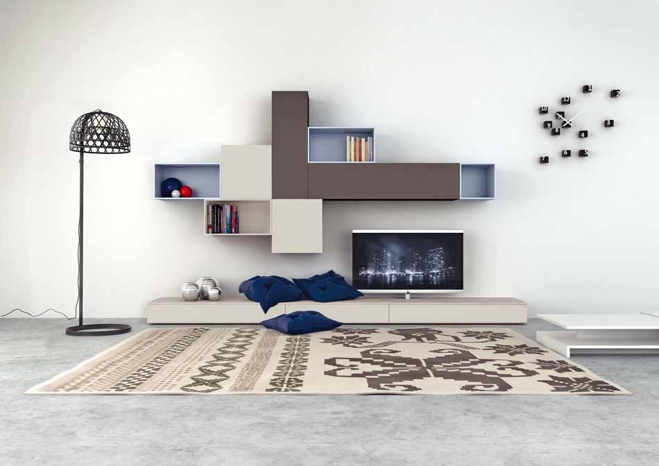 Novamobili 2271 Living Pareti Attrezzate – Benefit Arredo Moderno
