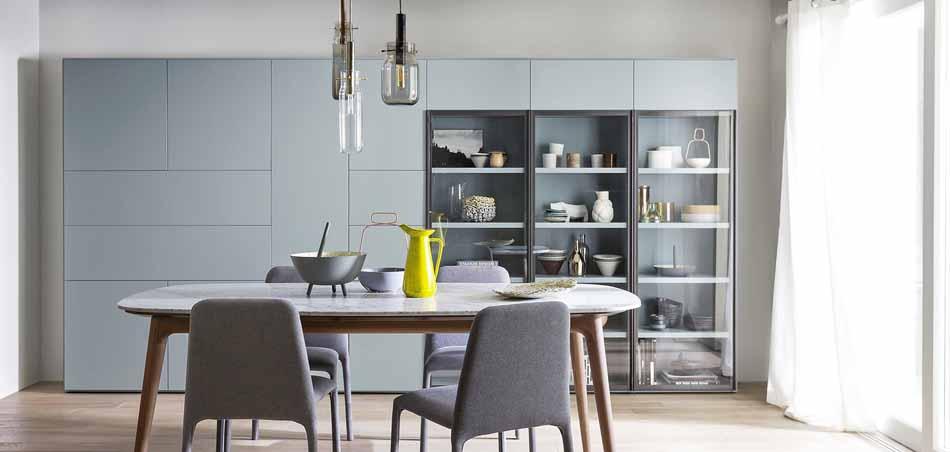 Novamobili 2273 Living Libreria – Benefit Arredo Moderno