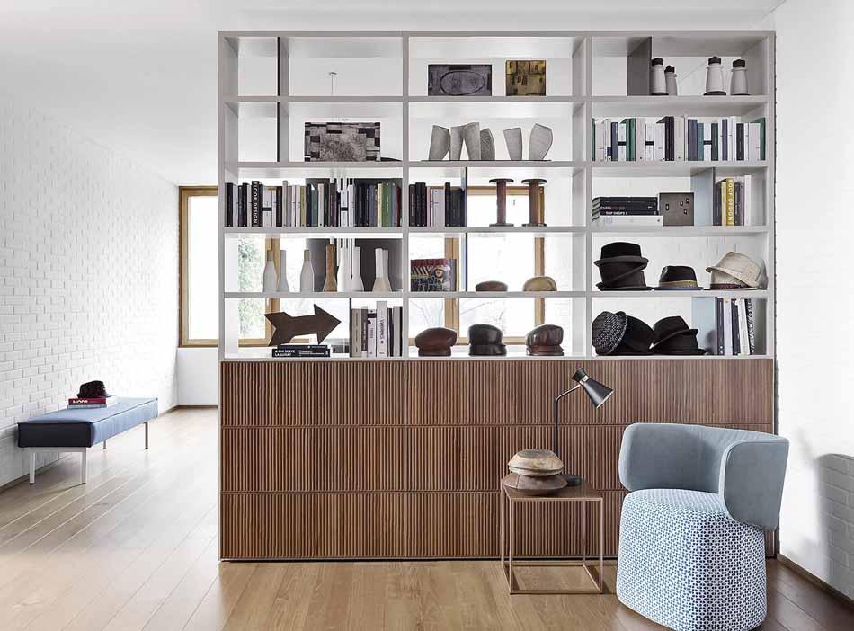 Novamobili 2276 Living Libreria – Benefit Arredo Moderno