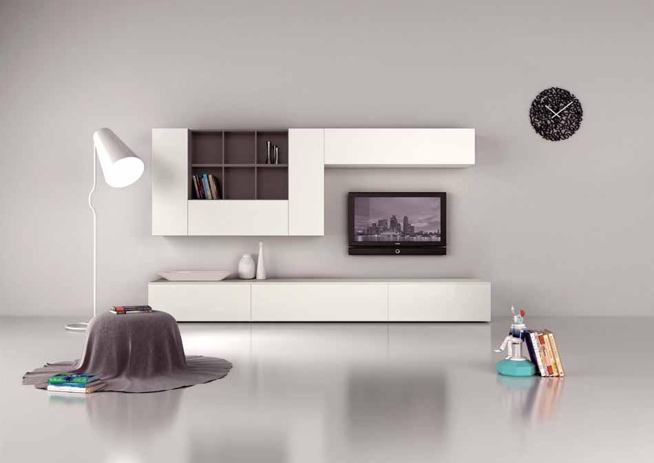 Novamobili 2277 Living Pareti Attrezzate – Benefit Arredo Moderno