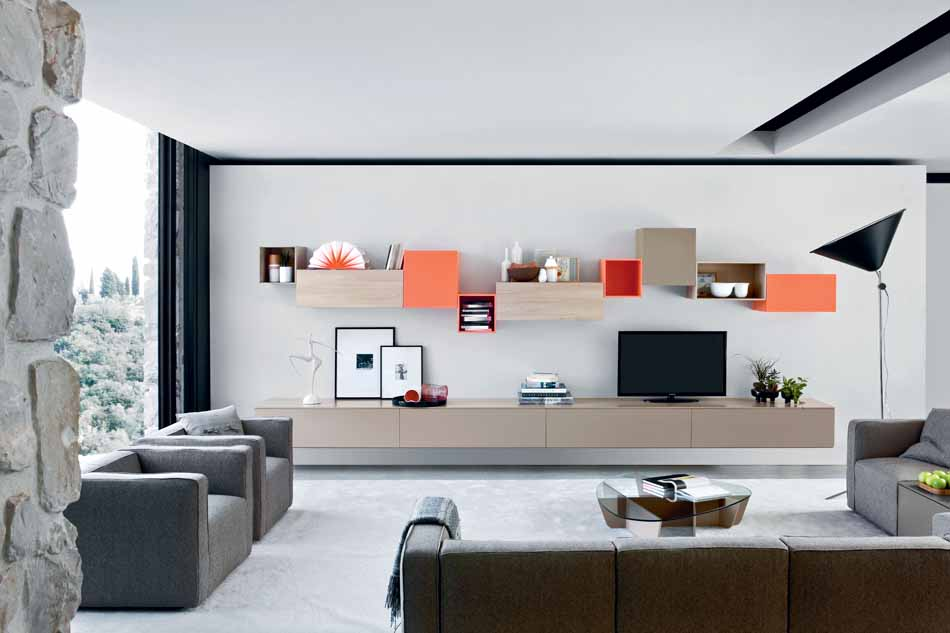 Novamobili 2285 Living Pareti Attrezzate – Benefit Arredo Moderno