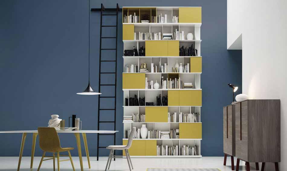 Novamobili 2290 Living Libreria – Benefit Arredo Moderno