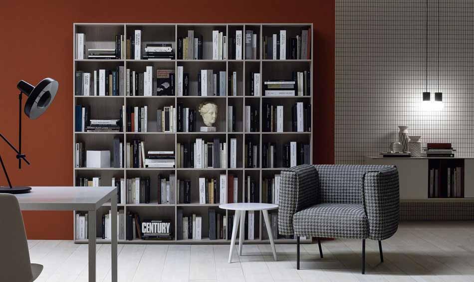 Novamobili 2299 Living Libreria – Benefit Arredo Moderno