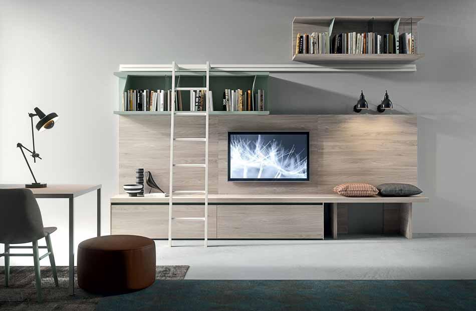 Novamobili 2303 Living Pareti Attrezzate – Benefit Arredo Moderno