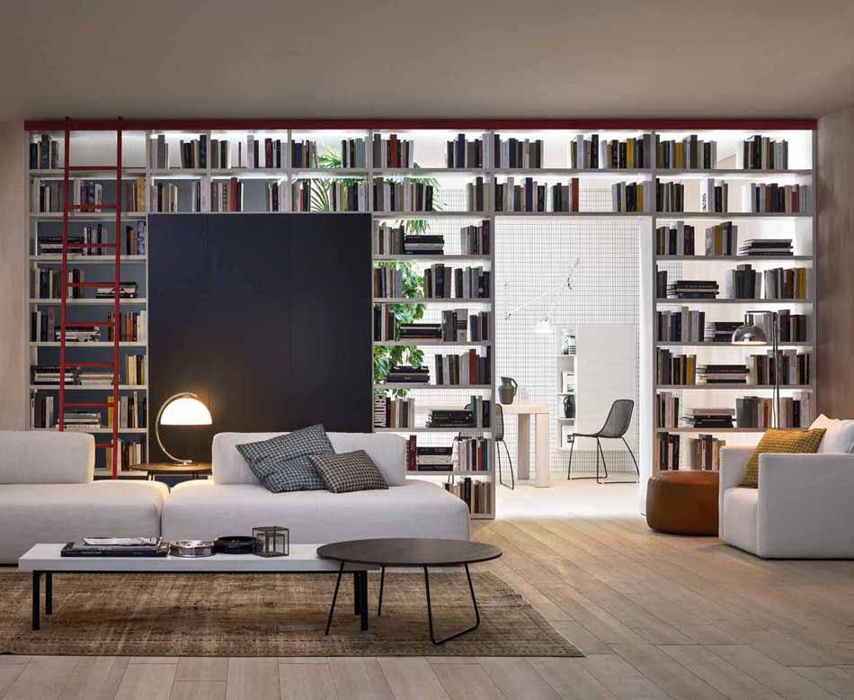 Novamobili 2320 Living Libreria – Benefit Arredo Moderno