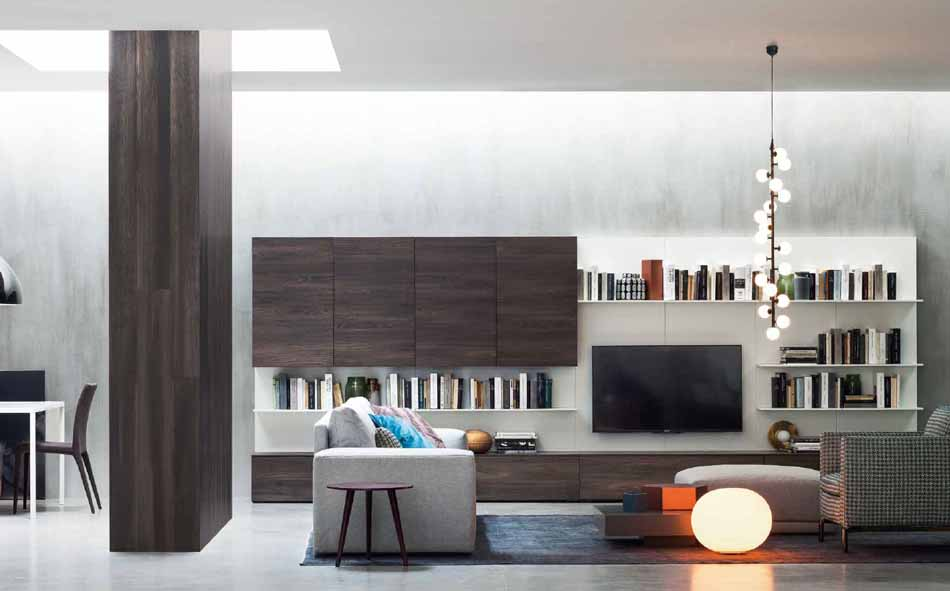 Novamobili 2324 Living Pareti Attrezzate – Benefit Arredo Moderno
