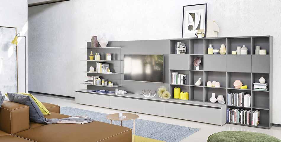 Novamobili 2332 Living Pareti Attrezzate – Benefit Arredo Moderno