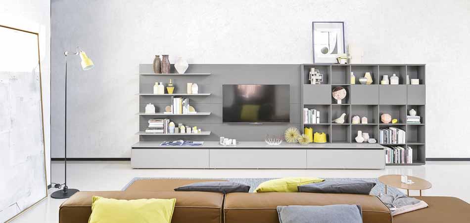 Novamobili 2334 Living Pareti Attrezzate – Benefit Arredo Moderno