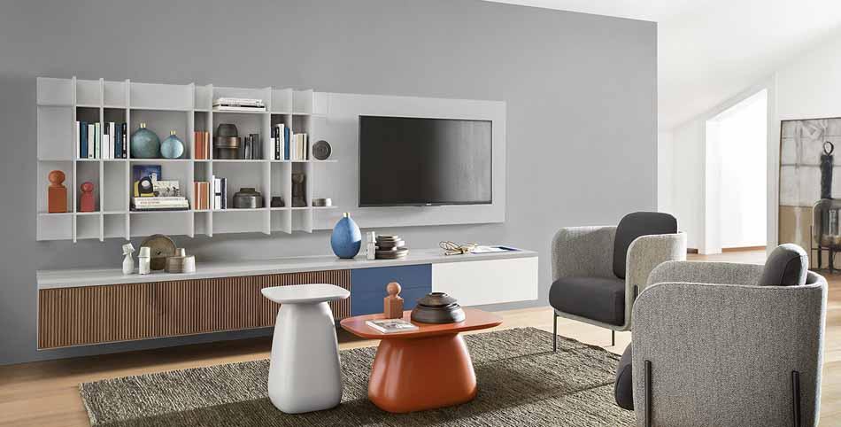 Novamobili 2336 Living Pareti Attrezzate – Benefit Arredo Moderno