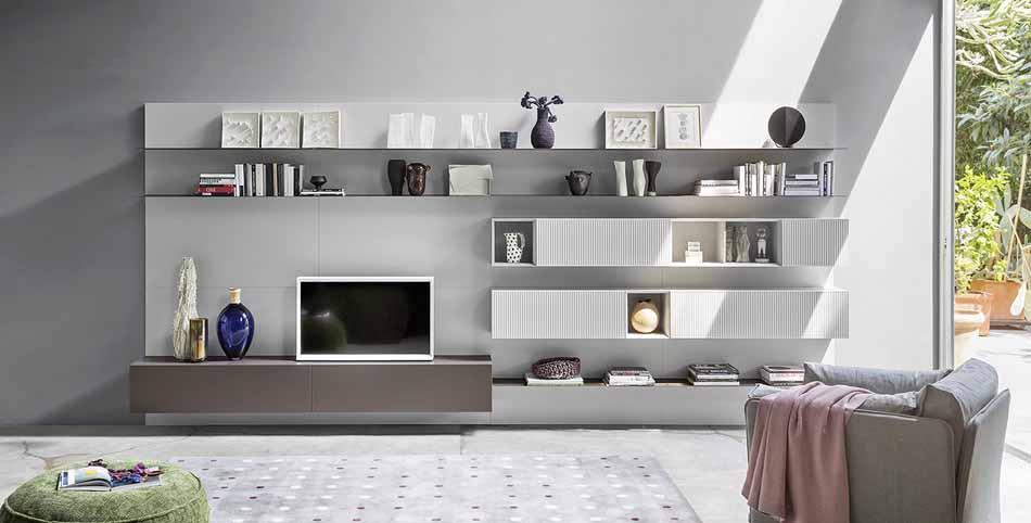Novamobili 2350 Living Pareti Attrezzate – Benefit Arredo Moderno