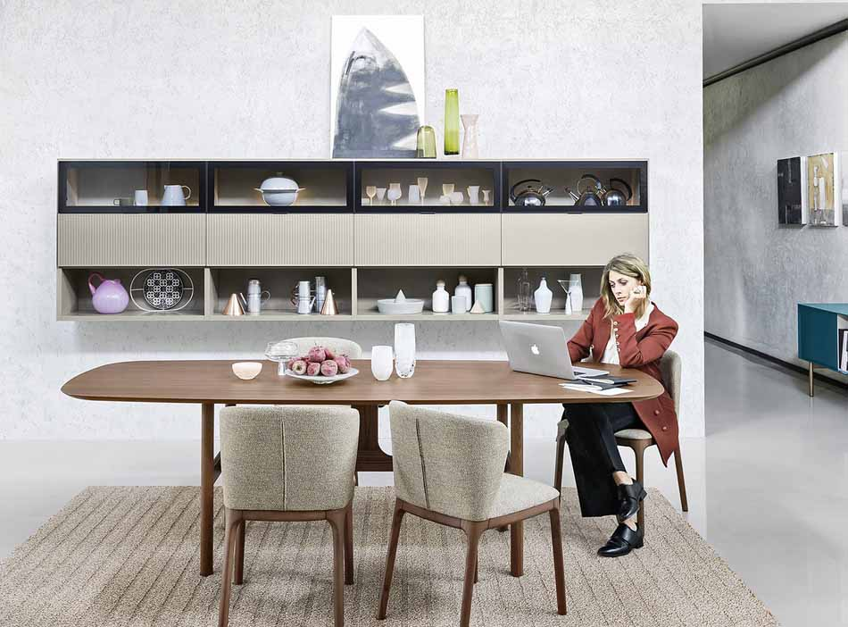 Novamobili 2351 Living Pareti Attrezzate – Benefit Arredo Moderno