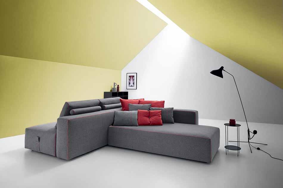 Salotti Felis 4172- Divani Bubble Gold – Benefit Arredo Moderno