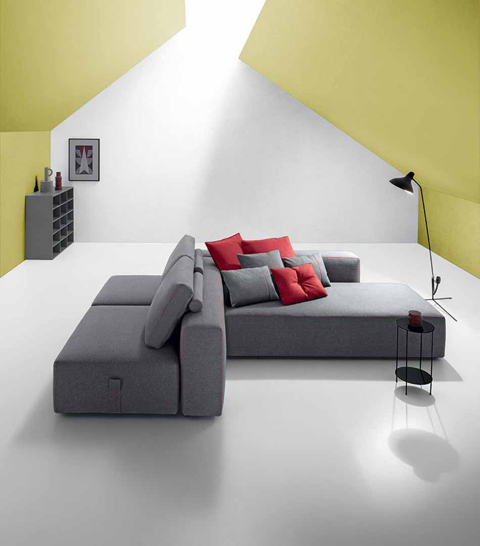 Salotti Felis 4197- Divani Bubble Gold – Benefit Arredo Moderno